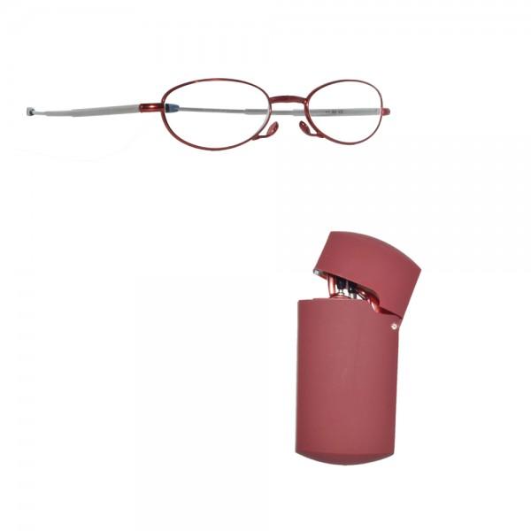 Ochelari de dama pliabili pentru citit, cu toc