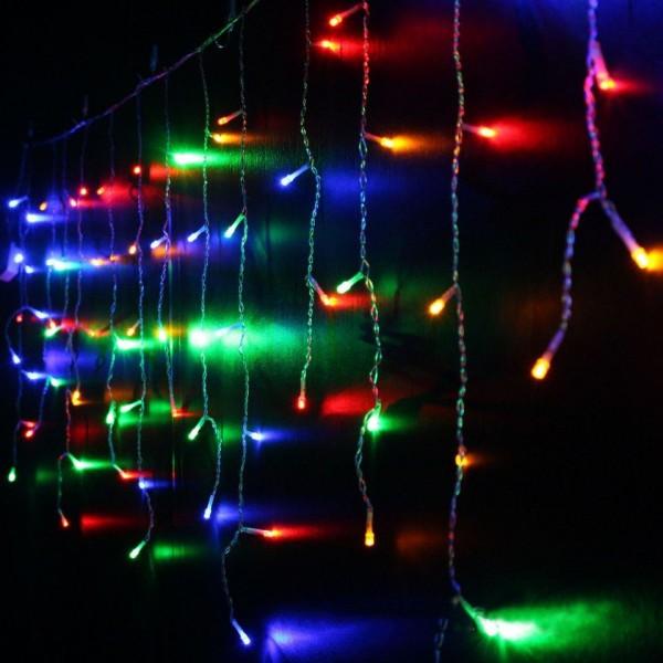 Instalatie tip turturi, 8 metri cu 200 de leduri, Multicolora