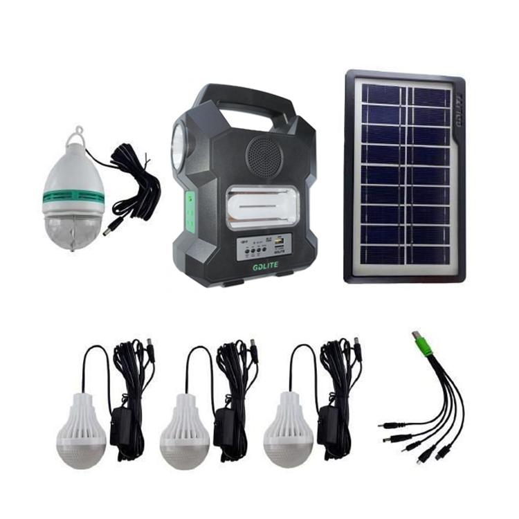 Sistem iluminat GD LITE 1000A incarcare solara/priza