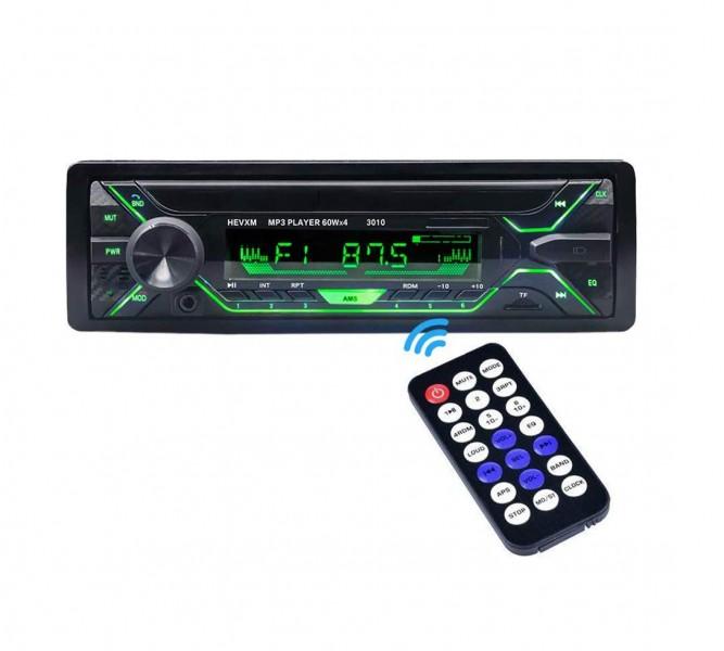 Radio MP3 Player 60W x 4 BT, telecomanda 7 lumini taste RGB