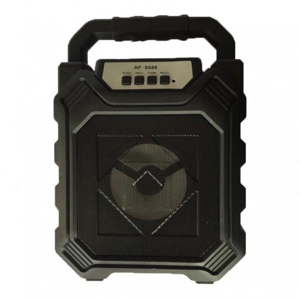 Boxa portabila cu maner si lumini HF S688