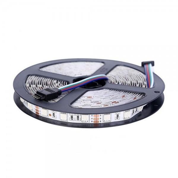 Banda LED RGB, 16 Culori 5050, 12V, 5M
