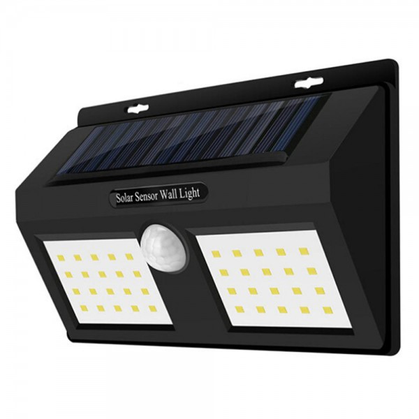 Lampa Led solara 1626A senzor misc, 40 leduri, alba 6000K