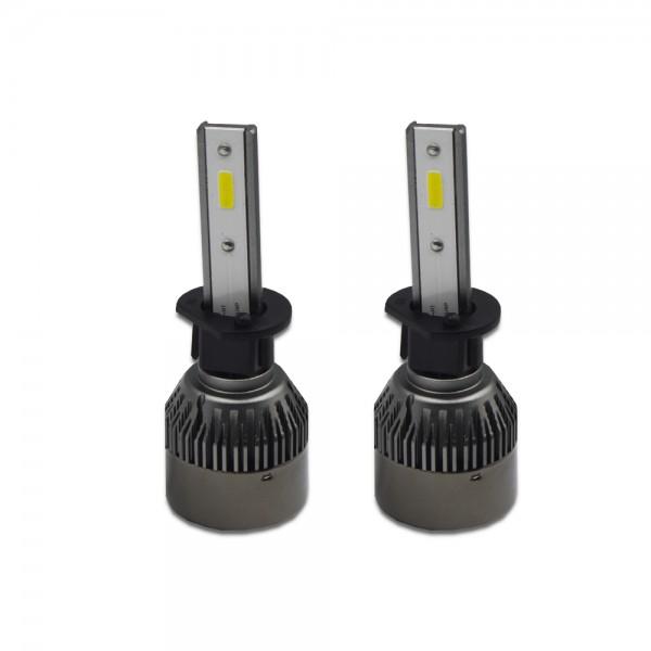 Set 2 becuri LED auto R6, 50W, 6000k – Slot H1
