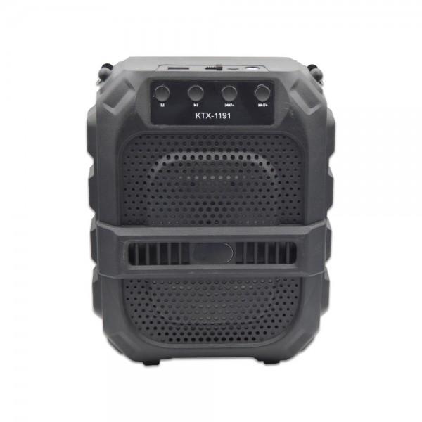 Boxa portabila KTX 1191, Wireless, USB, FM Radio
