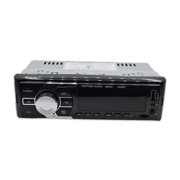 Radio MP3 1DIN cu BT, ecran LCD, telecomanda si Ceas digital