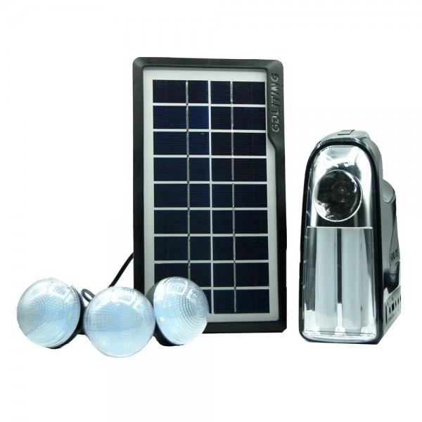 Sistem iluminare LED, solar 3 becuri LED, GDLite7