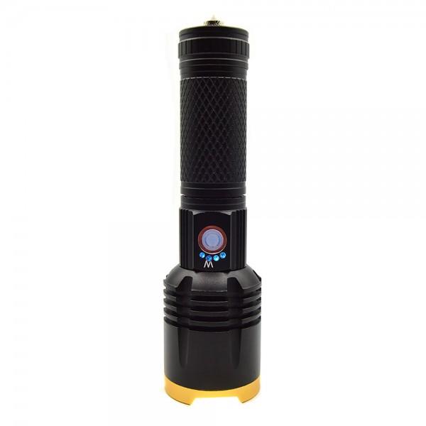 Lanterna LED cu zoom telescopic, incarcare USB, 10W