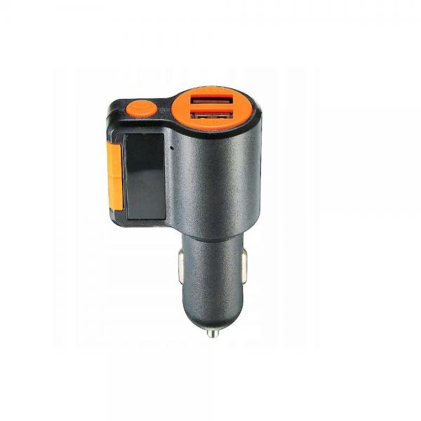 Car Kit Bluetooth, Modulator FM, Dual USB