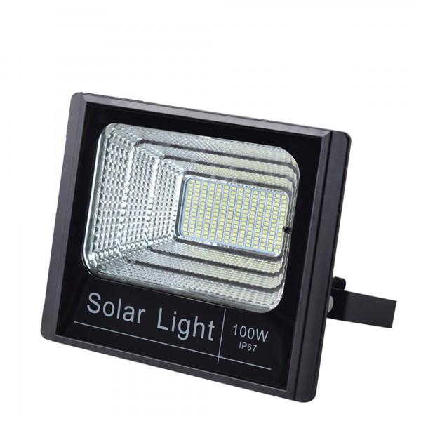 Proiector si Panou Solar Puternic LED 100 W