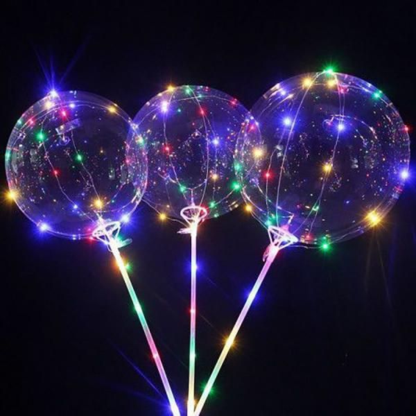 Balon LED multicolor pentru petreceri