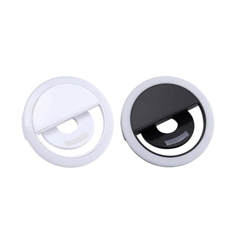 Lampa LED de telefon pentru selfie tip inel
