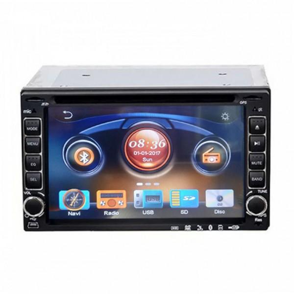 Player auto CD DVD Universal GPS si rama adaptoare