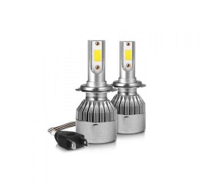 Set 2 becuri cu LED AUTO H1, 6000K