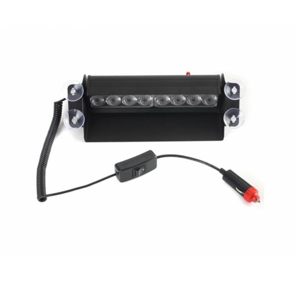 Lampa Stroboscop LED auto HB 803C, 6 moduri, rosu si albastru