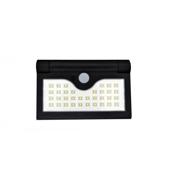 Lampa solara pliabila SH 090A, senzor miscare, 34 LED