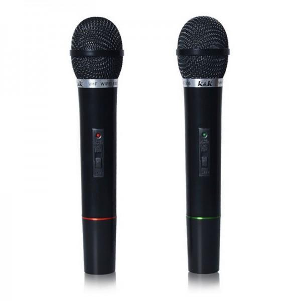 Set 2 microfoane wireless AT 306 , Concert la tine acasa