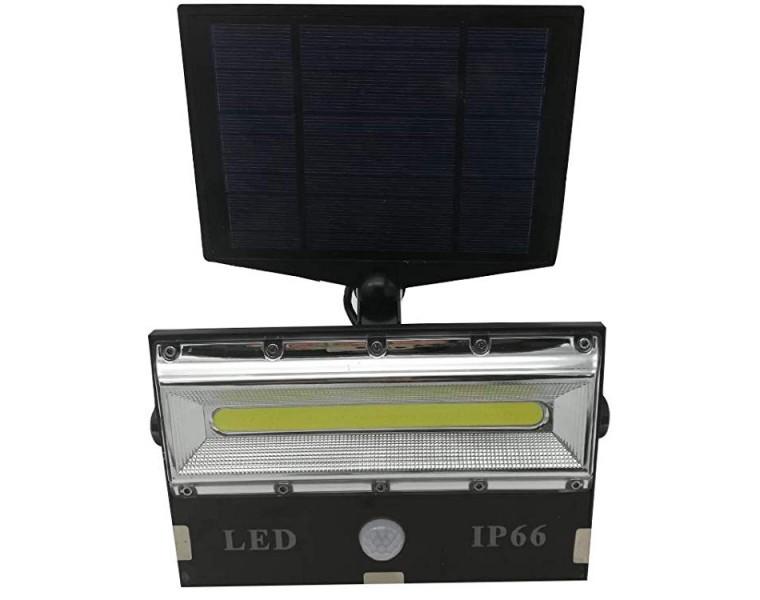 Lampa led cu panou solar T8501 COB, 3 moduri iluminare